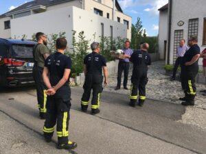 Abschied in den Feuerwehrruhestand